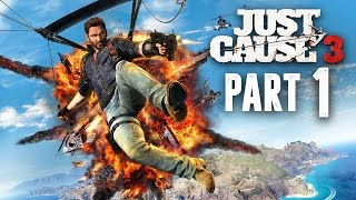 Just Cause 3 Walkthrough Part 1 - INTRO (JC3 PC Gameplay 1080p 60fps)