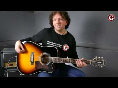 How to play The One I Love by REM - Guitar Couch Lessons