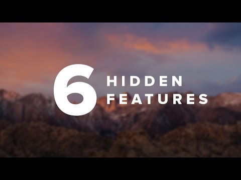 6 Hidden Mac Features