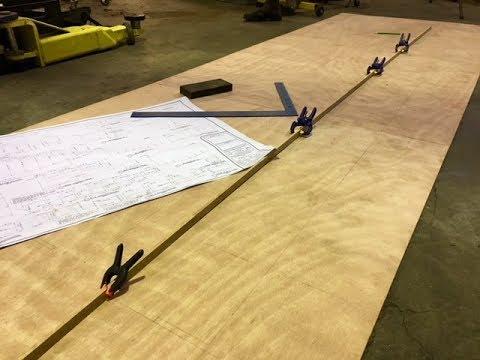 Lofting a plywood boat
