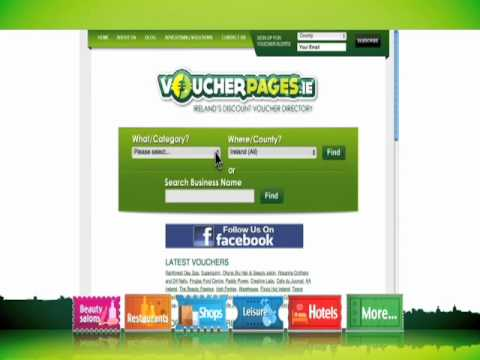 Voucher Pages - Discount Vouchers, Deals & Coupons In Ireland