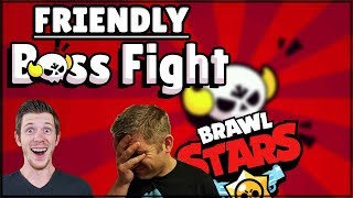 FRIENDLY BOSS FIGHT | Brawl Stars - Mini Game
