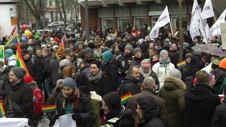 Demo Vielfalt statt Einfalt am 24.1.2015 in Hamburg