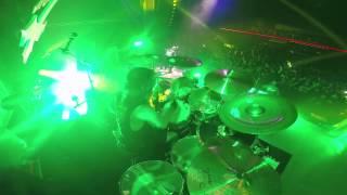 Paul Bostaph / Slayer GoPro Footage 2014 Oklahoma City