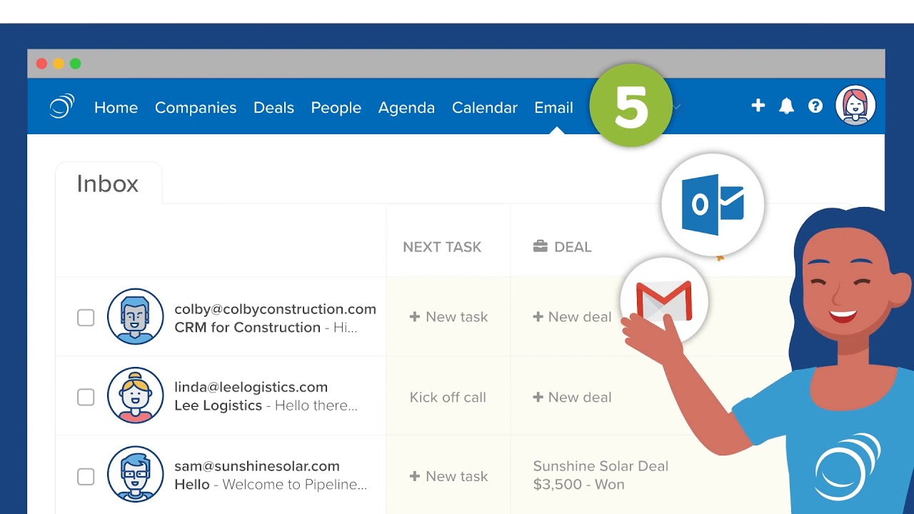 Welcome to PipelineDeals! - outils crm