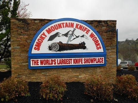Smoky Mountain Knife Works Tour