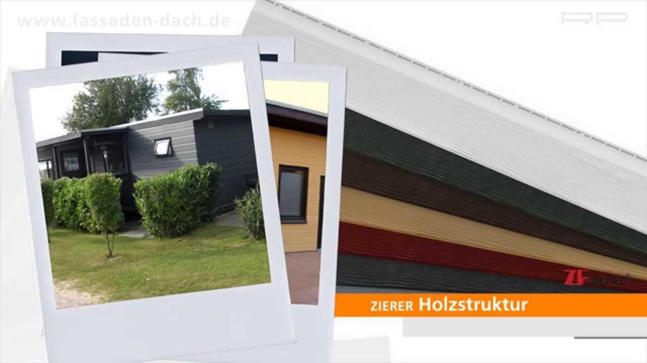 Wartungsfreie Holzoptikfassade Von Zf-Zierer - Youtube