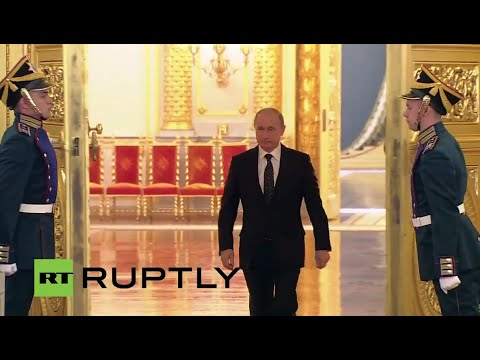 LIVE: Putin presents state awards for achievements in literature, art, science and technology