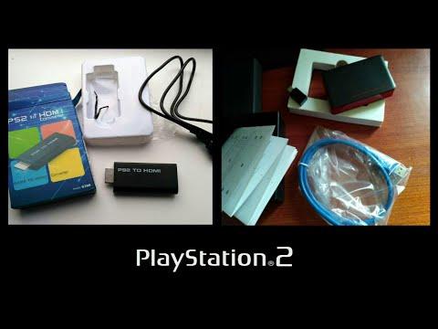 Как подключить PS2 к телевизору через переходник HDMI, и к карте захвата Ezcap 287