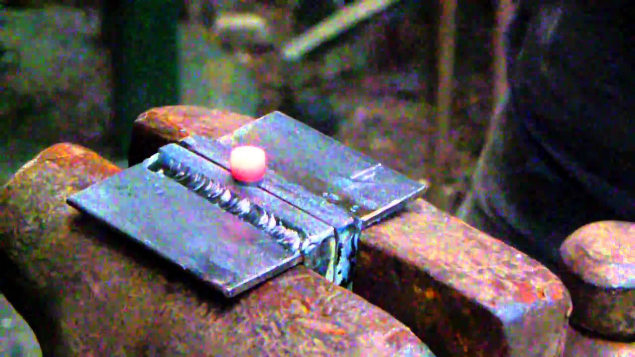 Blacksmithing How To Make Blacksmith Rivets 001 Youtube