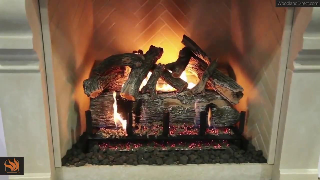 Jumbo Slimline Arizona Weathered Oak Gas Log Set