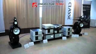 Видео Обзор с выставки HiFI HighEnd SHOW Акустические системы B&W Nautilus