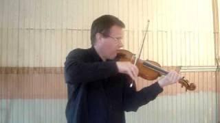 Bach Adagio g-minor Roland Kjellstrom violin.
