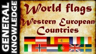 World Flags - Western European Countries