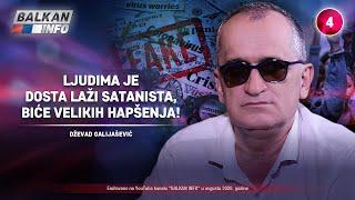 INTERVJU: Dževad Galijašević  Ljudima je dosta laži satanista, biće velikih hapšenja! (31.8.2020)