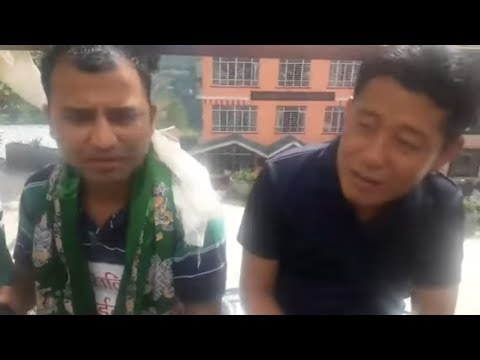 Laten Sherpa with Noel Sharma at Gangtok || 23rd May 2018 ||