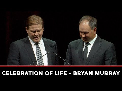 Celebrating Bryan Murray - Pierre Dorion and Randy Lee Eulogy