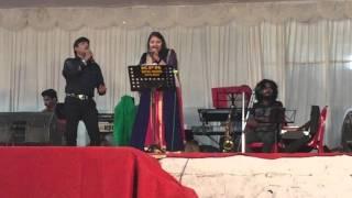 Mohammed Aslam & Merina Sumesh singing Jaane Jaan  @ Kozhikkode