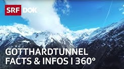 Der Gotthard-Basistunnel | 360° | Doku | SRF DOK