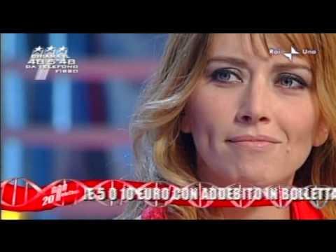 Loredana Cannata a Domenica In 13/12/2009 1^ parte
