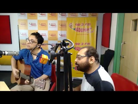 Anupam Roy and Anindya Chatterjee - Prakton the film- Adda and Jamming at Radio Mirchi studios!