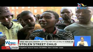 Stranger steals a two year old street child