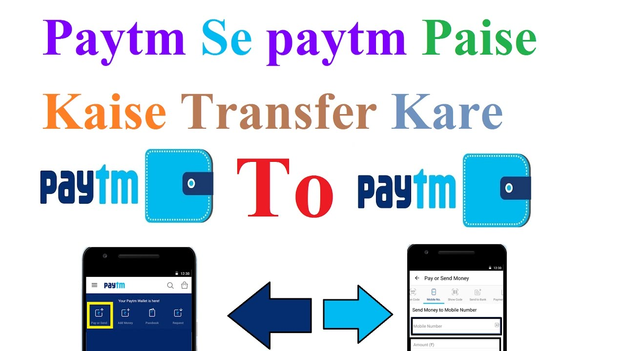 Paytm Se Paise Kaise Transfer Kare How To Send Money Free