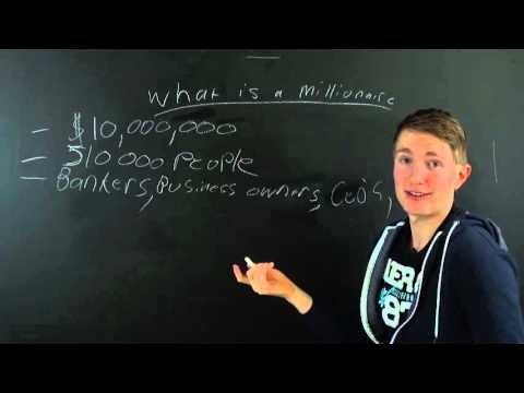 Becoming a MultiMillionaire - What is a Multimillionaire? (Very High Net Worth Individual)