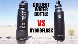 Hydroflask vs Coldest Water Bottle: Which Stays Colder Longer?