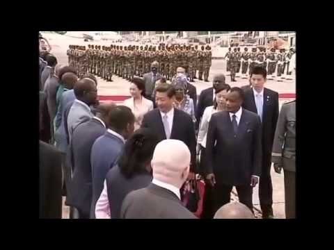 China's Xi bestows gifts on Congo