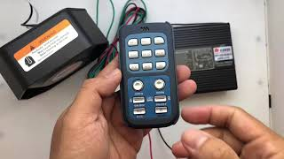 Patwal sirine 200 watt merk FEDERAL SIGNAL toak polisi