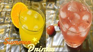 Summer Drinks|| Grapes juice ||Orange Lemon Juice