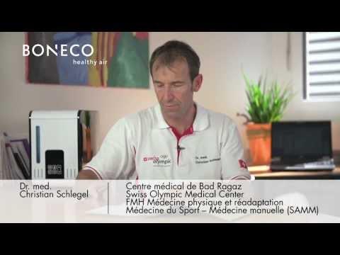 L'équipe olympique suisse fait confiance aux systèmes de traitement d'air en provenance de Widnau SG / «Les systèmes de traitement d'air BONECO healthy air sont des partenaires fiables» (IMAGE/VIDEO/ANNEXE)