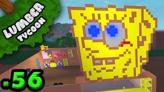 Lumber Tycoon #56: SpongeBob Plot! | Roblox
