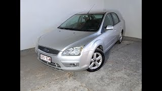 Automatic Cars 4cyl Ford Focus Sedan 2005 Review For Sale