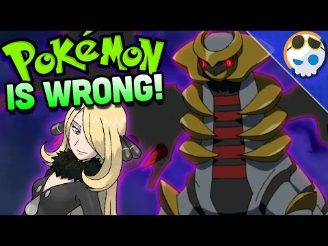Is Pokemon LYING about Giratina? | Gnoggin