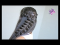 Flower and Pull-Through Braid | Cute Hairstyles | Braided Hairstyles | Chikas Chic