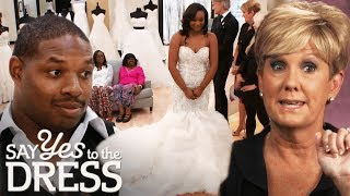 Bride Want to Try on Dress $7000 Above Budget | Say Yes To The Dress Atlanta