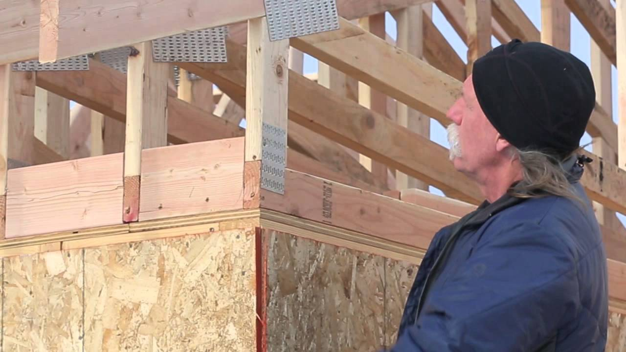 Raised Heel Trusses In Zero Energy Homes Zeh Youtube