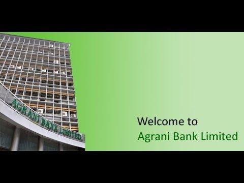 Agrani Bank Ltd Head Office 9/D Dilkusha C/A Dhaka 1000 অগ্রণী ব্যাংক লিমিটেড