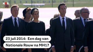 MH17:  Terugblik op een dag van nationale rouw