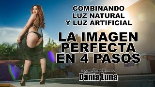 La imagen Perfecta en 4 Pasos, Combinando Luz Natural y Luz Artificial, Fashion Photoshoot