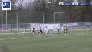 B-Junioren - FC Astoria Walldorf vs. VfR Aalen 5-2 - Matthias Hahn