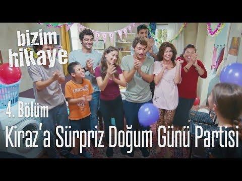 Kiraz'a sürpriz doğum günü partisi -...