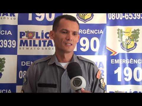 Feriado da semana santa em Confresa foi tranquilo para polícia militar