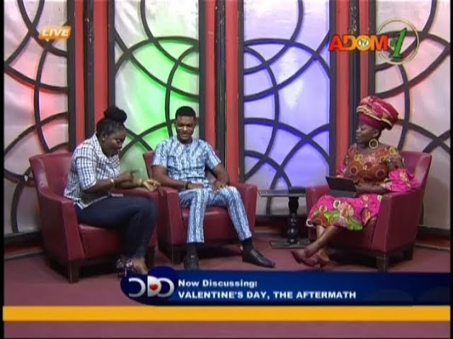 Valentine's Day, The Aftermath - Odo Ahomaso on Adom TV (16-2-19)