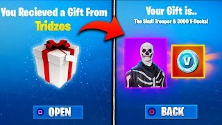 *NEW* GIFTING FEATURE IN FORTNITE - Fortnite Battle Royale Get Free Skins, V-Bucks (Gifting Update)