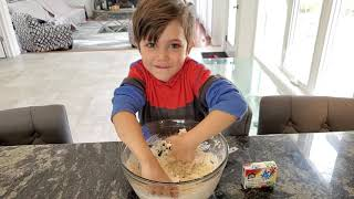 How to make Playdoh at home with Learn and Play with Zack
