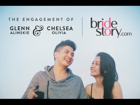 Cover Lagu Glenn Alinskie & Chelsea Olivia's Engagement Proposal HITSLAGU