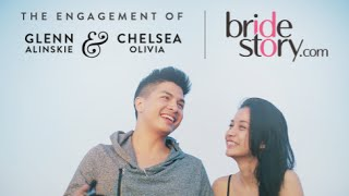 Glenn Alinskie & Chelsea Olivia's Engagement Proposal